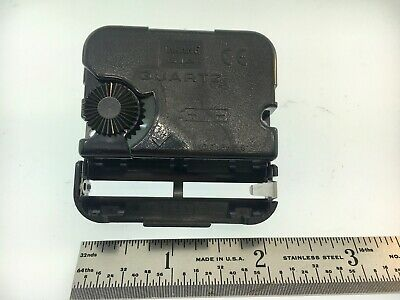 Takane Quartz Battery Clock Movement Short Shaft High Torque Made in USA