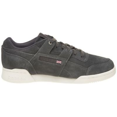 067e31ad3a9e5 New MENS REEBOK GRAY WORKOUT PLUS MONTANA CANS COLLABORATION SUEDE Sneakers  9.5