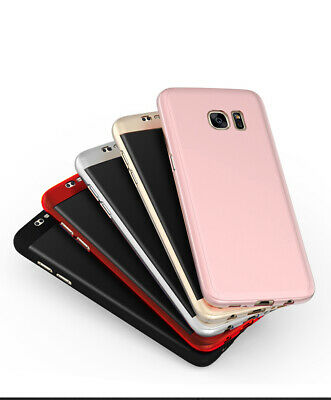360° Protective Hybrid Case+Tempered Glass Cover For Samsung Galaxy J3 J5 J7