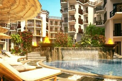 0% deposit offer on side sea view apartment in Tropical themed resort