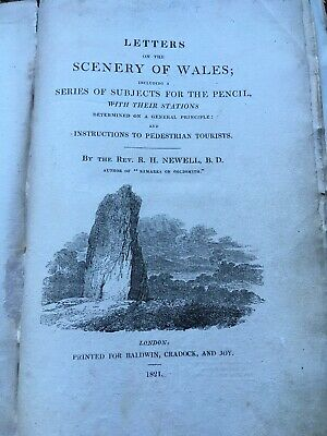 Letters On The Scenery Of Wales, Newell, 1821