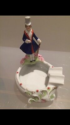 The Figurine Ashtray. Germany. Porcelain.