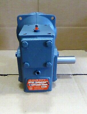 Hub City Worm Gear Reducer 15:1 Ratio  0220-61212
