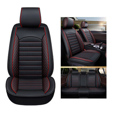 Universal Car Seat Cover Set Protector Cushion Leather Auto Interior Accessories