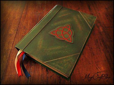 Charmed BOOK OF SHADOWS replica with ALL original pages in english - MEDIUM
