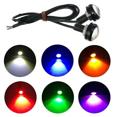 10PCS 12V 9W Eagle Eye LED Daytime Running DRL Backup Light Motorcycle Car Lamp