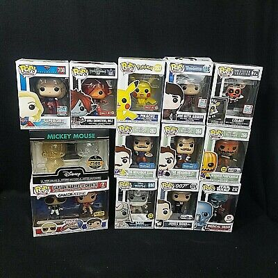 Funko Pop! Vynils  - Various  Exclusives  **Imperfect Boxes** - Lot 1
