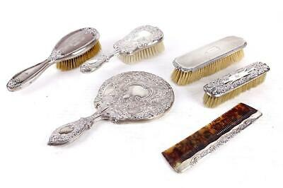 Antique Silver Dresser English
