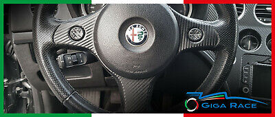 alfa romeo 159 adesivi sticker decal razze comandi volante tuning carbon look