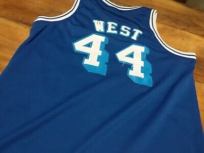 7e0be57c5 Hardwood Classics 1961-62 NBA Los Angeles Lakers Jerry West  44 Jersey Size  M