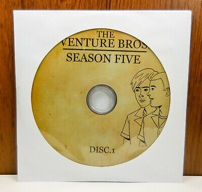 The Venture Bros Season Five 5 - Discs Only (DVD, 2-Disc) 5th