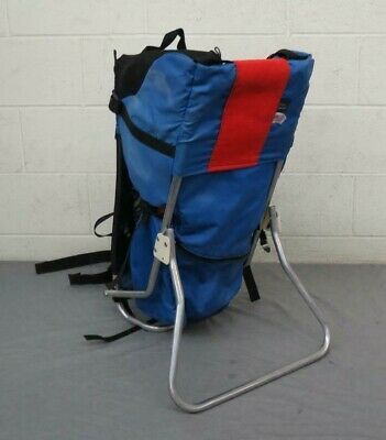 6a019cb936d Tough Traveler Lightweight Kid Carrier Baby Backpack in Blue   Red LOOK