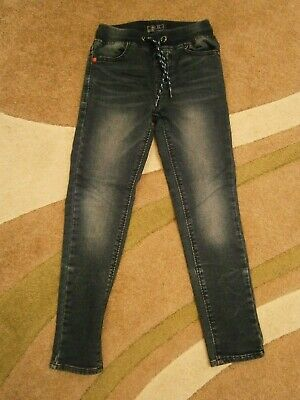 Next Boys Blue Ribbed Waist Skinny Jeans 8yrs, 2 Available, Twins?