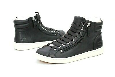 32890fcdf85 UGG OLIVE NUBUCK Leather Chestnut High Top Sneakers Size 9.5 Us ...