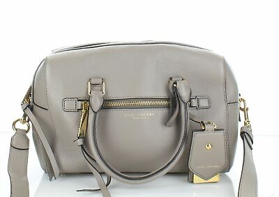 72e3200491d5 MARC JACOBS RECRUIT Leather Satchel MINK Style   M0008895 With Strap ...