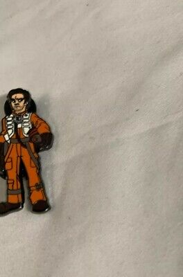 STAR WARS CELEBRATION 2019 CHICAGO POE DAMERON (Trading Pin) AUTHENTIC NEW***