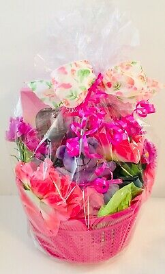 Happy Birthday Mom Gift Basket Godiva Lindt Candy Body Set Parfum Get Well