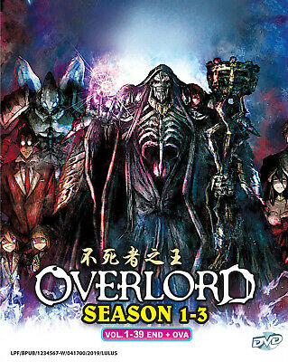 DVD ANIME OVERLORD Special Edition Complete Series (1-13 +OVA