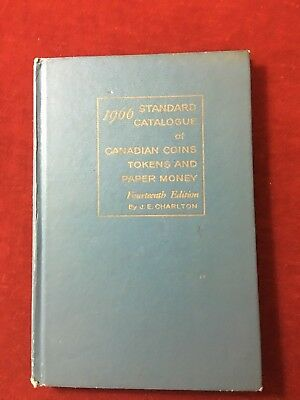 1966 Standard Catalogue Of Canadian Coins Tokens And Paper Money-HB