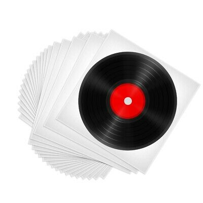 """50 Clear Plastic LP Outer Sleeve 3MIL Vinyl Record Album Covers 12.75"""" x 12.75"""""""