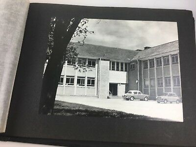 Vintage Photo Album Made In U.k. - Photos Are Of Buildings, Crops - Photograph