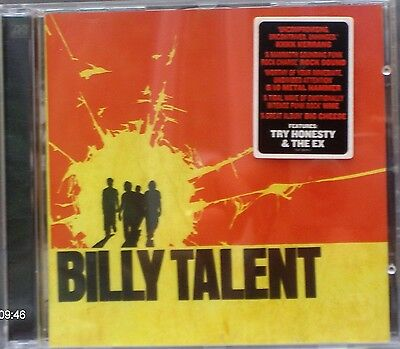 "Billy Talent - Billy Talent (CD 2003) Features ""Try Honesty"" ""The Ex"""