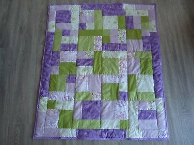 New Handmade Baby/Child/Adult Quilt (Blanket)  - Patchwork