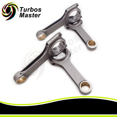 Connecting Rod for Opel Calibra Vauxhall Astra Zafira 2.0 C20xe C20LET 143mm
