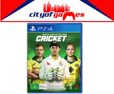 Cricket 19 The Official Game of the Ashes PS4 Brand New In Stock