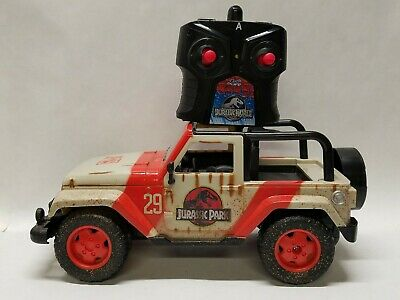 Jurrassic World Jeep Wrangler RC JP29 Park Vehicle Jurassic Park W controlTested