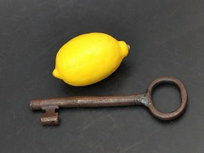 Large Antique Wrought Key Early 19th Century 7 Inches