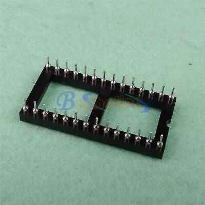 1PC Round hole 28pin Broad Type Pitch 2.54mm DIP IC Sockets Adaptor New