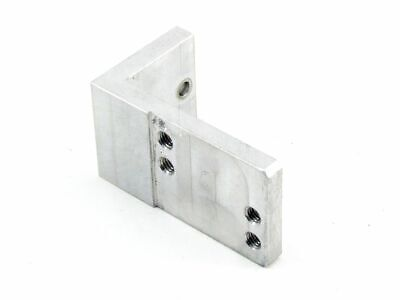 Aluminium 7mm 4xM6 Mounting 2x5mm Hole - Ø Angle Metal Mount Connector