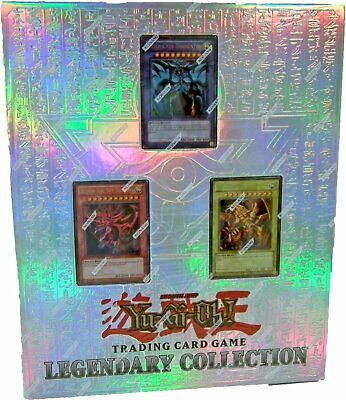 YUGIOH Legendary Collection 1: 10th Anniversary Egyptian-Style 3-Ring BINDER