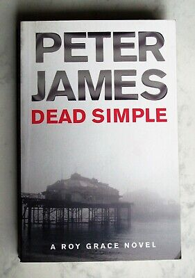 """Peter James """"Dead Simple"""" Roy Grace Ex Cond Combined postage available"""