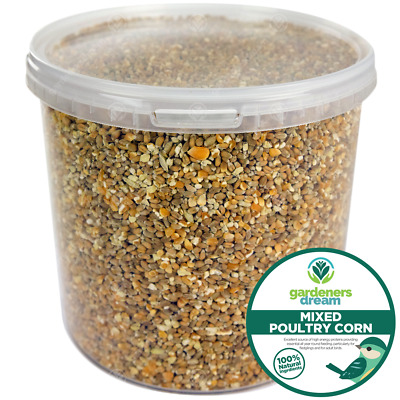 GardenersDream Mixed Poultry Corn - Protein Rich Food Seed Mix For Chicken Geese