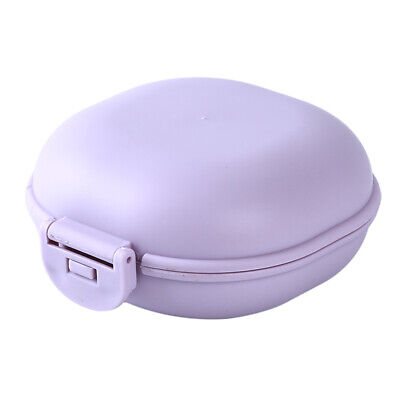 Portable Waterproof Travel Toilet with Lid Creative Drain Soap Box Soap Box CB