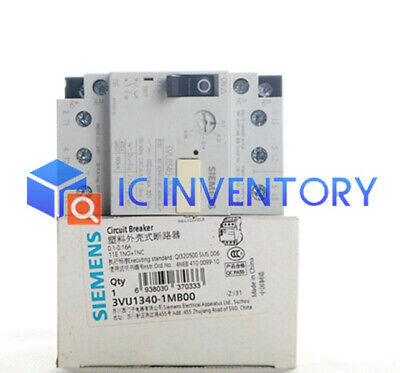 1PCS New Siemens Motor Protection Circuit Breaker 3VU1340-1MB00 0.1-0.16A