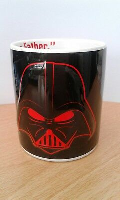 "Star Wars - Darth Vader ""I Am Your Father"" - Raised Relief Ceramic Mug 2013 - Vg"