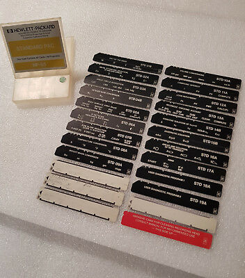 HP-65 Magnetic Cards - Standard Pac