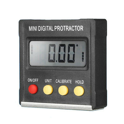 Angle Detector Mini LCD Display Digital Protractor Accuracy General Tools