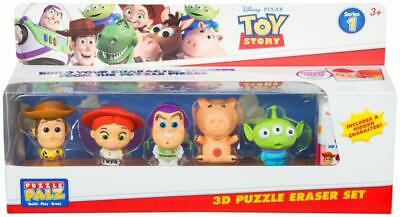 Disney Toy Story 4 Make Your Own Eraser Figure Set Build Your Own Character Set