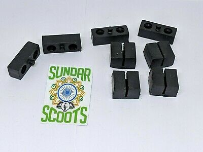 LI SERIES 3 SPLINED CONTROL RODS /& FIXINGS-SUITABLE FOR LAMBRETTA SCOOTERS