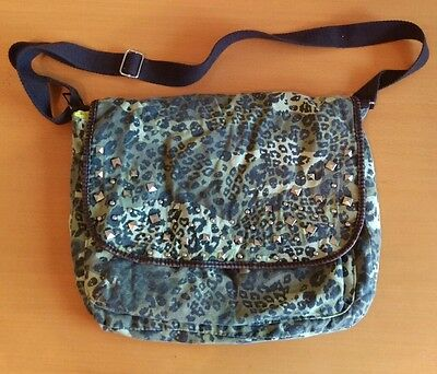 Claires Girls Green Studded Bag