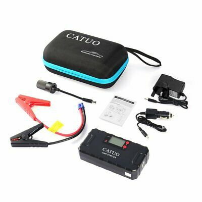 CATUO 13600mAh Auto Car Jump Starter Battery Booster with USB Power Bank D#