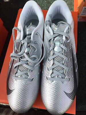 8773635a9517 Nike Vapor Untouchable Speed 3 TD Football Cleats Silver Size 10 917166 101