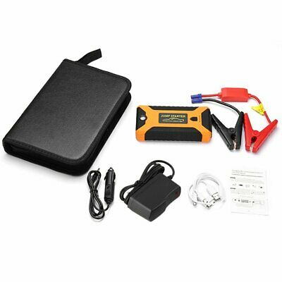 22000mAh 600A Car 12V Vehicle Portable Emergency Jump Starter&Battery Charger D@