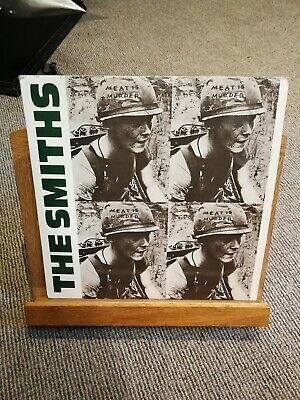 "The Smiths Meat Is Murder 12"" Lp Vinyl Rough Trade  1985"