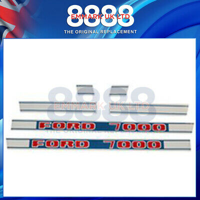 Ford New Holland 7000 Tractor Decal Set 0