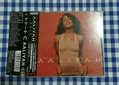 Aaliyah Japan CD w OBI AALIYAH 2001 TRY AGAIN  We need a resolution